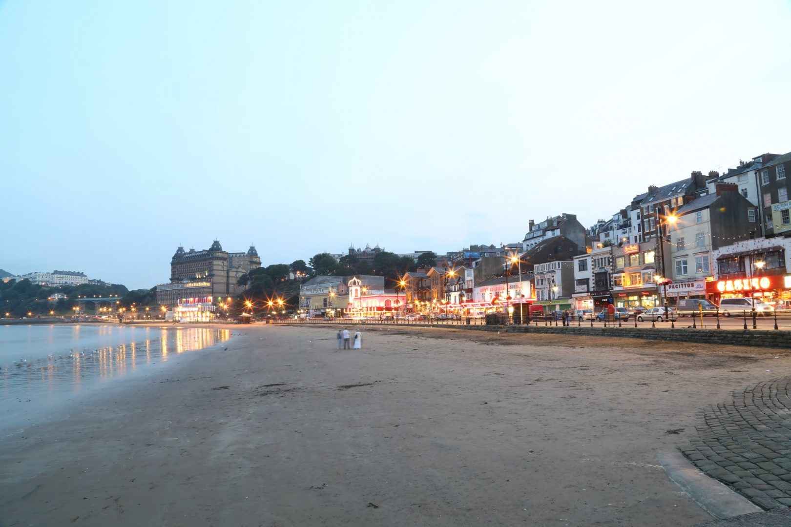 Image showing various building types along the Scarborough seafront
